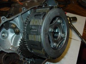 Final install on junk motor