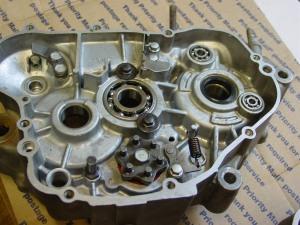 Bearings installed (2)