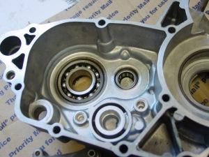 Bearings installed (3)
