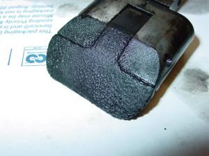 main valve dirty