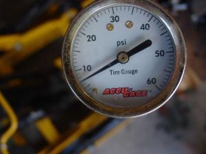 Pressure test 5 min